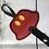 Thumbnail: Red Shorts design Ear/Bow holder