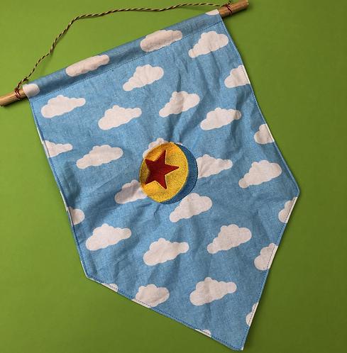 Pixar Ball - Pin Display Flag