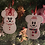 Thumbnail: Christmas Snowmice Decorations