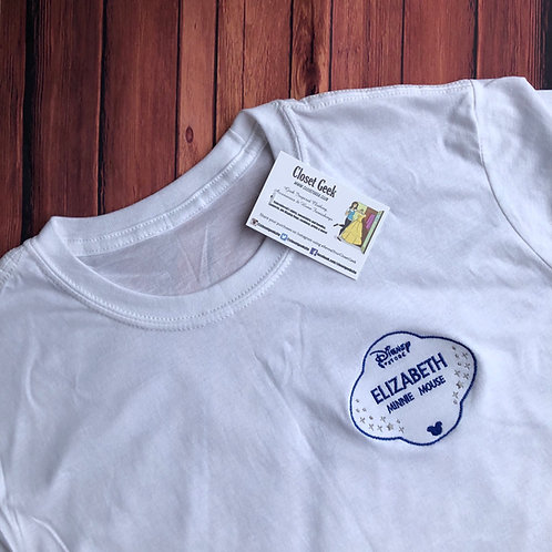 Personalised Store Cast Member badge inspired t-shirt