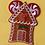 Thumbnail: Gingerbread House design Ear/Bow holder