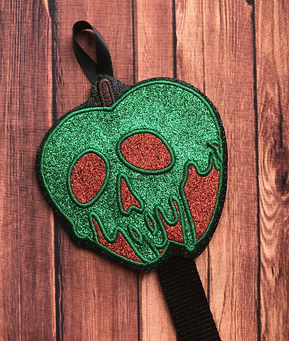 Poison Apple design Ear/Bow holder