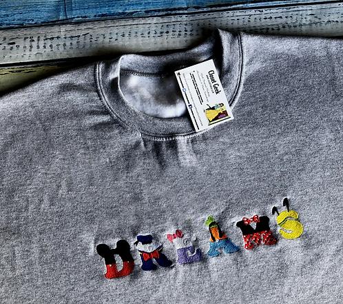 DREAMS Sweatshirt design