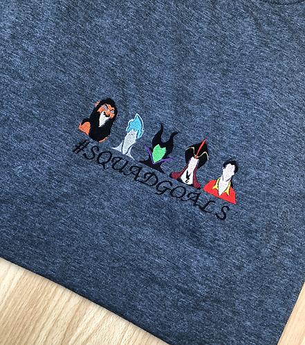 Multiple Villains on a T-shirt
