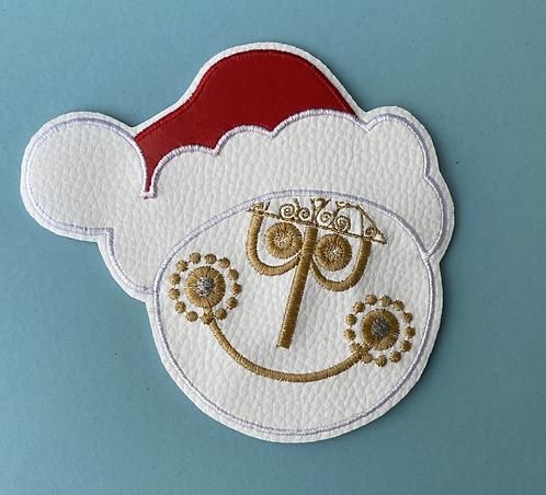 Christmas Small World design Ear/Bow holder