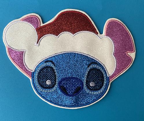 Christmas Stitch design Ear/Bow holder