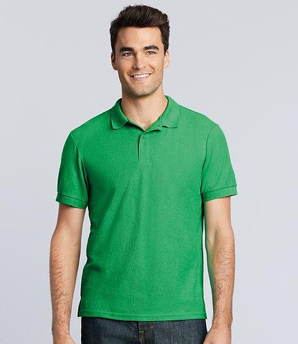 Put it on a... polo shirt