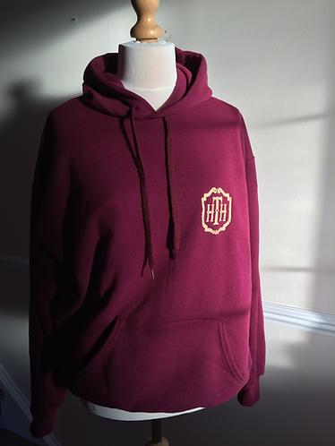 HTH design on sweatshirt or hoodie