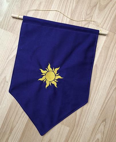 Corona Sun - Pin Display Flag
