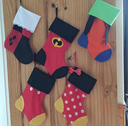 Custom Inspired Christmas Stockings