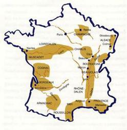 Vindistrikter i Frankrike