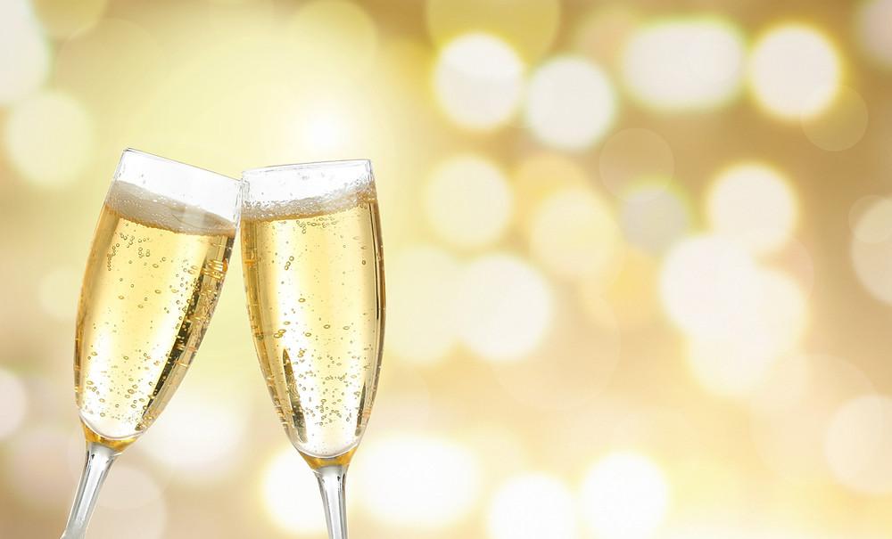 Champagne skål
