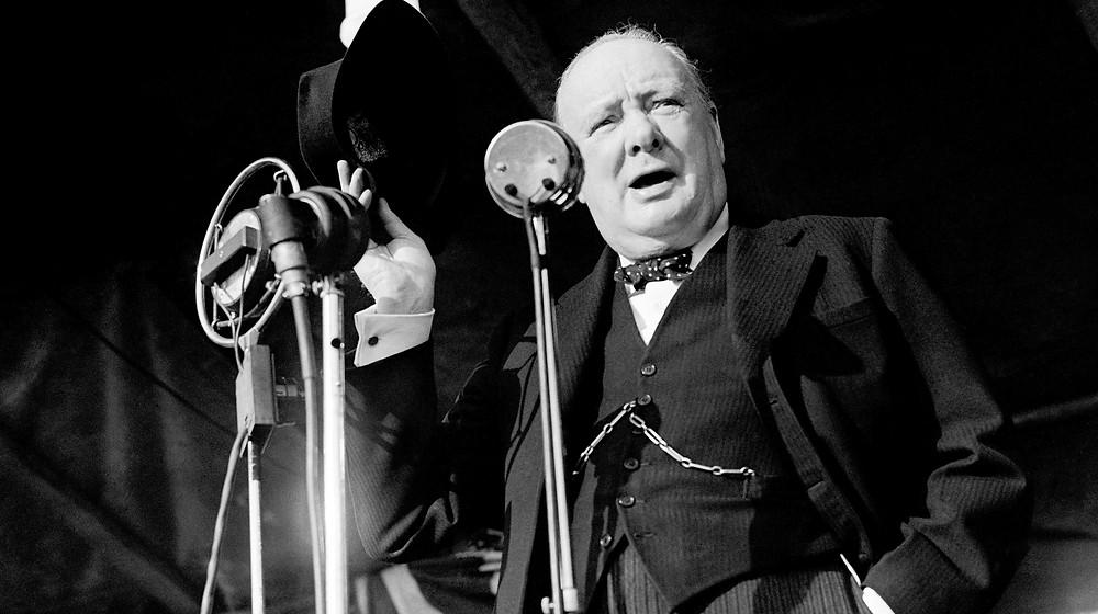 Winston Churchill Taler