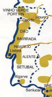 Vindistrikter i Portugal