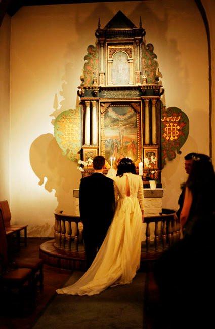 Kirkealter bryllup