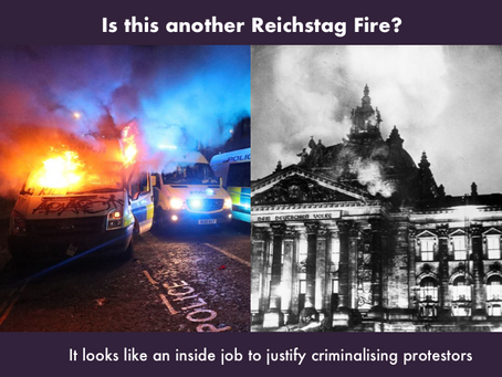 Are Bristol Riots another Reichstag Fire?