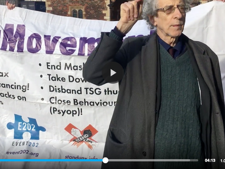 Piers Corbyn challenges the Archbishop Of Canterbury to debate the Church's role in the New Normal