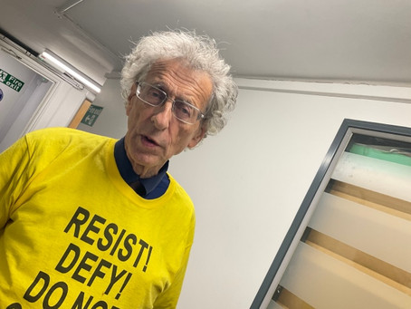 Piers is Arrested as a Terrorist Running Last Mile of London Marathon