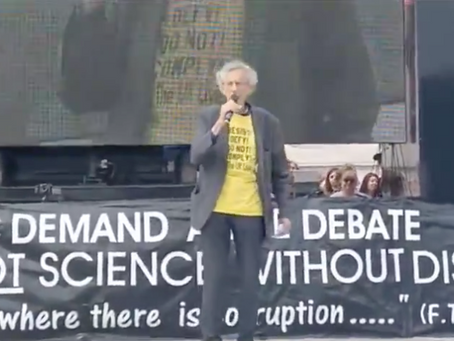Piers Corbyn at London Freedom Rally 24 July 2021