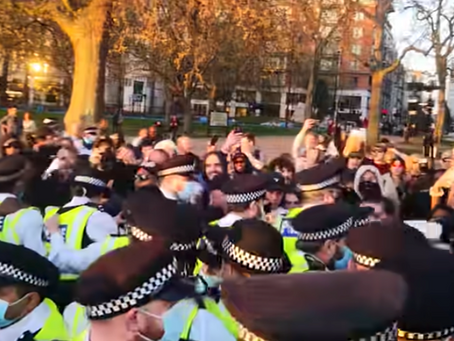 The truth about the police action on 24 April 2021 in Hyde Park