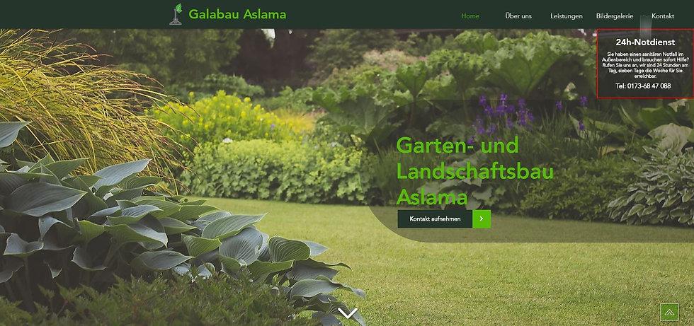 Homepage Galabau Aslama Groß Zimmern www.galabau-aslama.de © Philip Michael Gumprecht