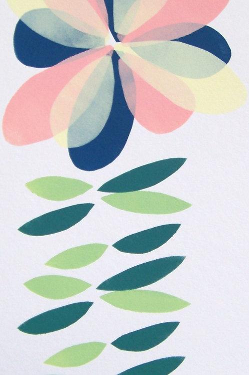 botanical 3- original painting/print