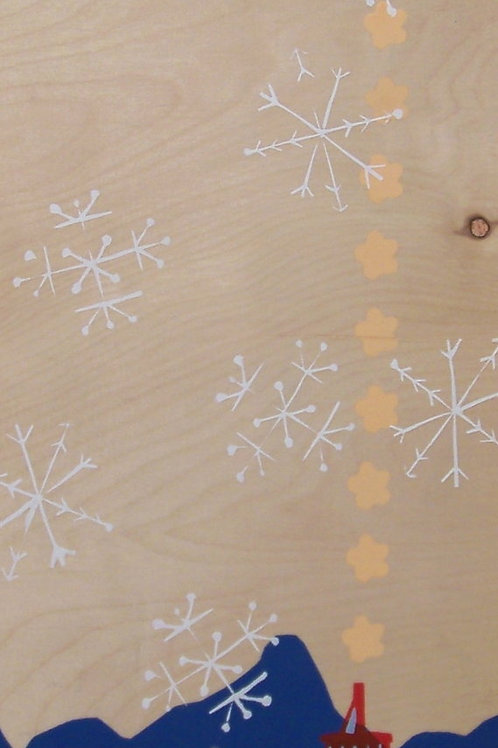 snowflakes and puffs