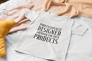 mockup-of-a-flat-lay-tee-placed-over-a-b
