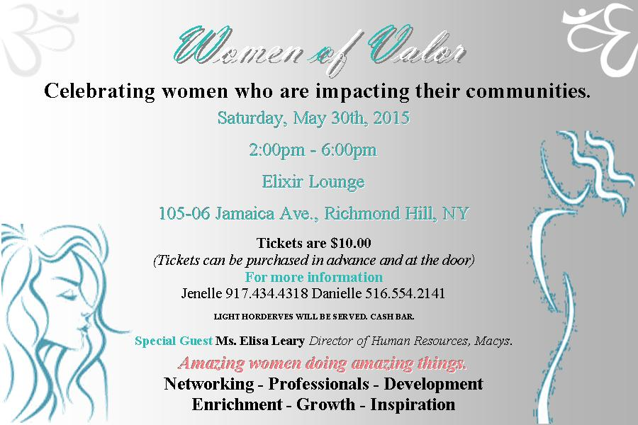 Women of Valor Flyer