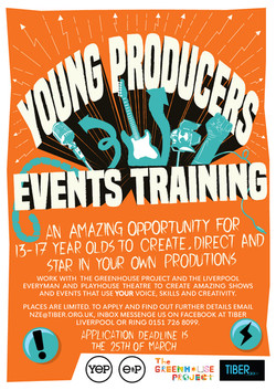 Young Producers Events Training Flyer De
