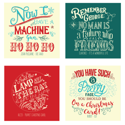 Christmas Quote Cards