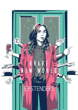 Brave New World- Eastenders poster
