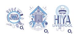O2 Celebrate Liverpool Merch Design