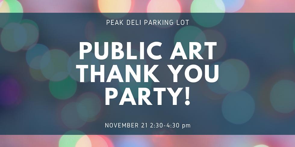Public Art Mural Party!