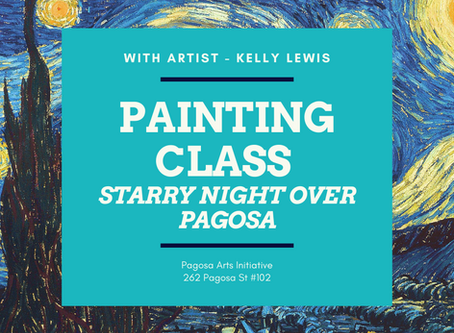 Van Gogh Class Coming Up!