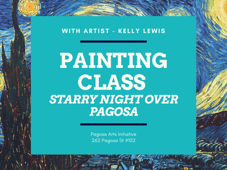 Van Gogh Class Coming Up!