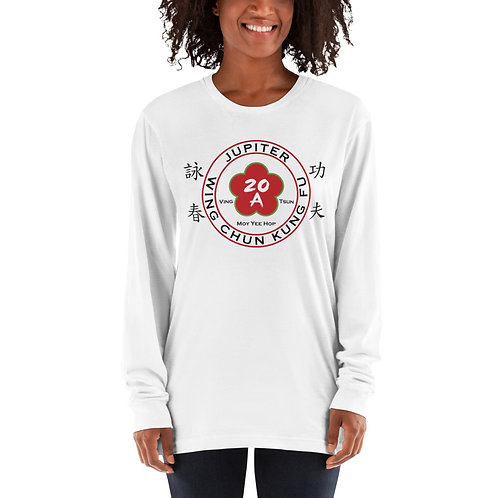 Womens Jupiter Wing Chun White Long sleeve t-shirt