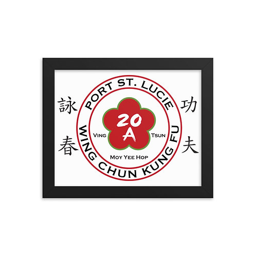 Port Saint Lucie Wing Chun Framed photo paper poster