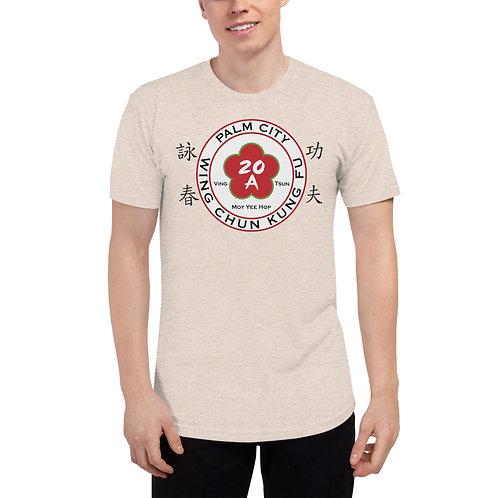 Palm City Unisex Tri-Blend Track Shirt