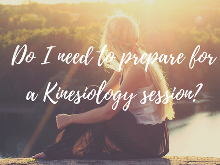 Do you need to 'prepare' for a Kinesiology session?