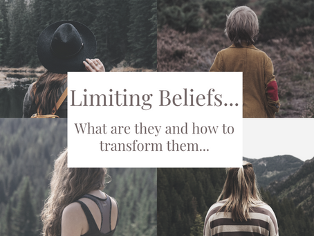 Limiting beliefs - What are they and how to transform them...