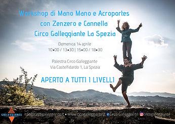 Stage di Mano Mano con Zenzero e Cannell