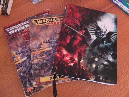 9th Edition is a Monster or Back to the Grimdark Future