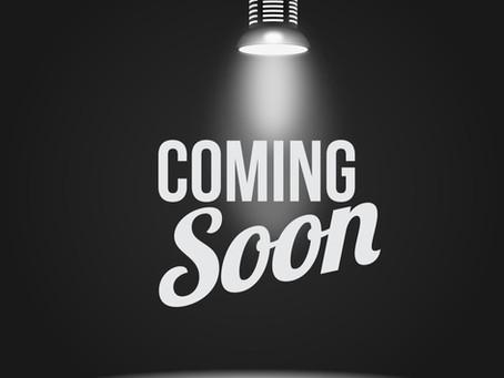 Blog Coming Soon!