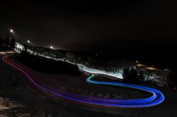 light trail