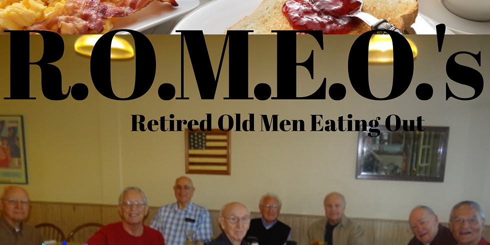 ROMEO's - Retired Old Men Eating Out (2)