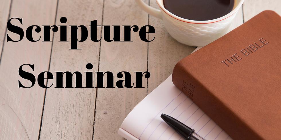Scripture Seminar