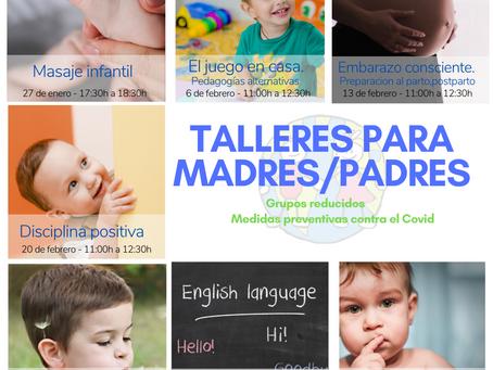 Arrancan nuestros talleres para madres y madres
