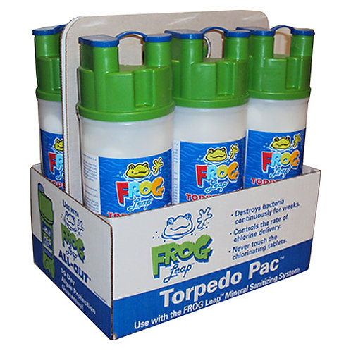 6-Pack Frog Leap Torpedo Pacs