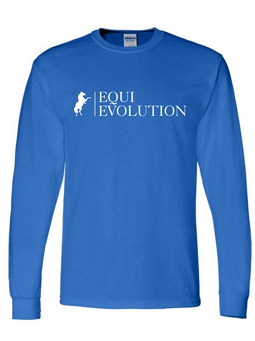 Royal Blue Long Sleeve T-shirt